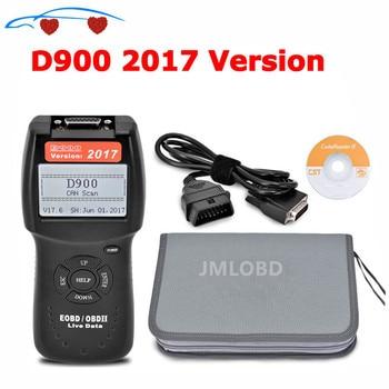2017.6 Versie D900 OBD2 Scanner D900 Code Reader Diagnostic Tool Canbus D 900 Eobd OBD2 Scanner Voor Multi-Cars