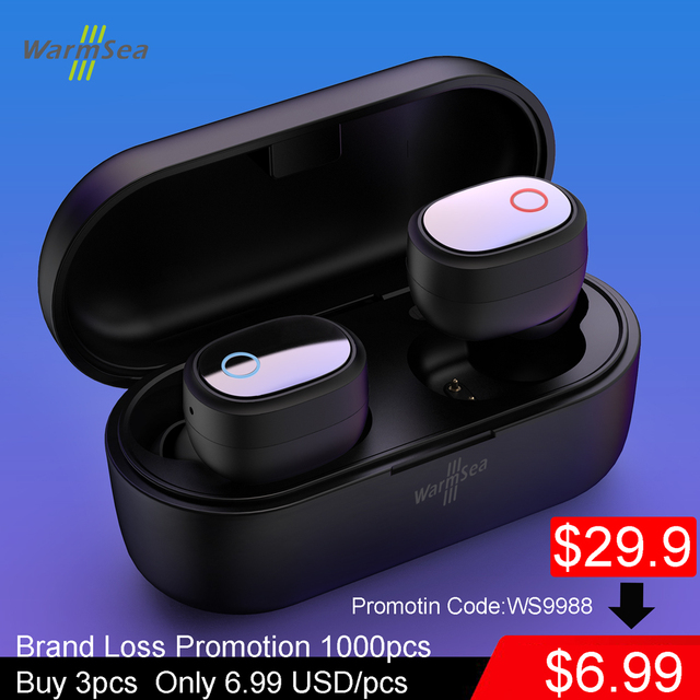 Wireless Earbuds Bluetooth Earphone TWS 5.0 Headphones Sport Headset Microphone for IPhone Huawei XiaoMi Airdots Samsung Android