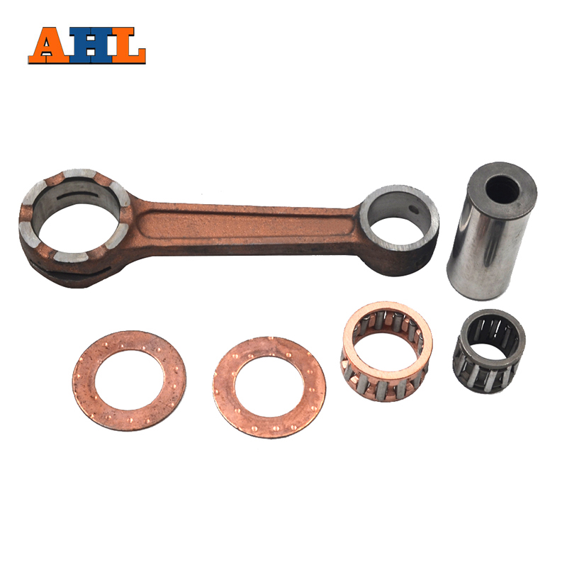 AHL Motorcycle <font><b>Parts</b></font> Connecting Rod CRANK ROD Conrod Kit For Kawasaki KDX200 1989-2005 KDX220 1997-2005 <font><b>KX125</b></font> KDX125 1988-1991 image