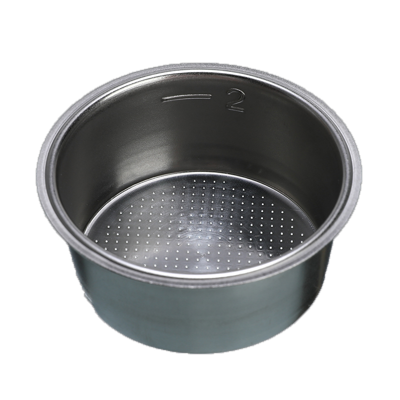 51mm/2*1 Inch Stainless Steel Coffee Tea Filter Basket Home Non Pressurized Coffee Machine Accessories Powder Bowl Coffee Filter