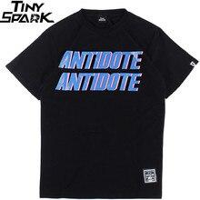Camiseta masculina hip hop antídoto travis scott rapper américa hiphop t camisa harajuku tshirt streetwear verão 2020 topos t algodão