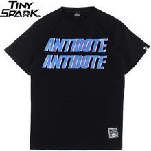 Men T Shirt Hip Hop Antidote Travis Scott Rapper America Hiphop T Shirt Harajuku Tshirt Streetwear Summer 2020 Tops Tees Cotton