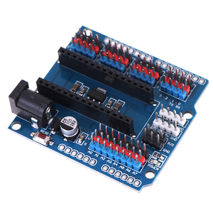 1 шт. модуль для Arduino Nano V3.0 3,0 I/O IO Плата расширения микросенсор Щит Модуль Uno R3 Leonardo One