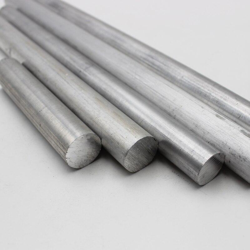 Aluminum Rod Stock Aluminum Round Bar Aluminum Rod /& Bar Dia 16mm Length 600mm