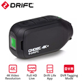 Drift Ghost 4k+ HD Motorcycle Action Camera Bicycle Body Worn Helmet Portable Sport Cam with Wifi App Control 1950mAh Battery
