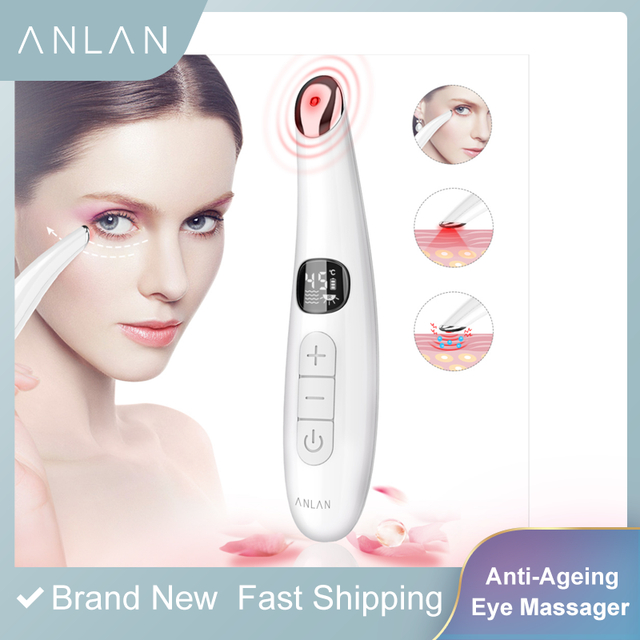 Mini Electric Vibration Eye Face Massager Anti Ageing Eye Wrinkle Massager Dark Circle Removal Portable Beauty Care Pen Massage