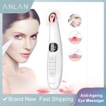Mini wibracje elektryczne masażer do twarzy oczu Anti aging masażer zmarszczek oczu usuwanie ciemnego koła przenośna pielęgnacja urody masaż pióra
