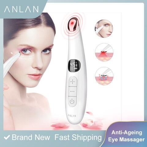 mini vibracao eletrica olho rosto massageador anti envelhecimento olho rugas massageador dark circle remocao portatil