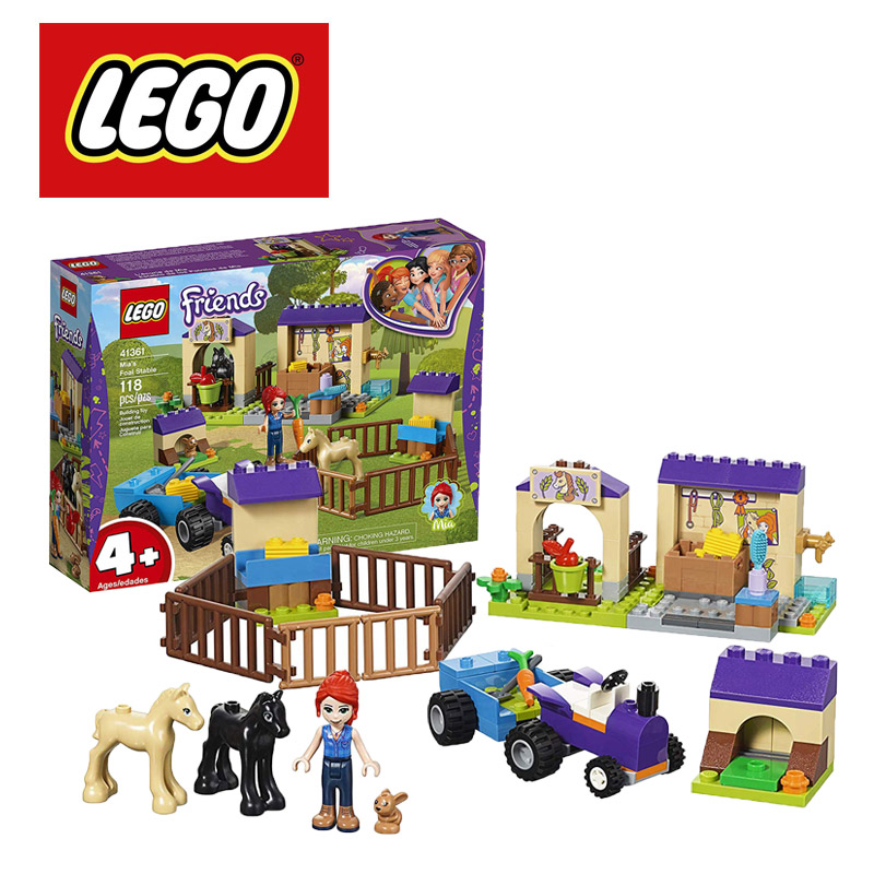 Оригинальные строительные блоки LEGO Friends Mia