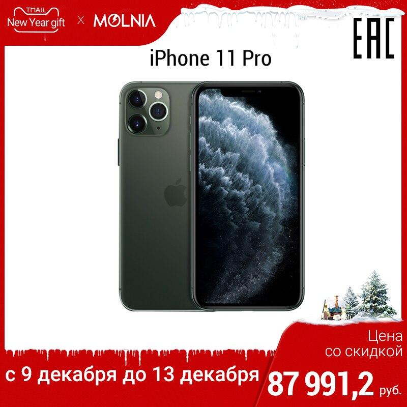 Smartphone Apple iPhone X PRO MAX 64 GB IPhone 11 pro 6.5 pouces avec trois caméras batterie puissante vidéo 4K garantie