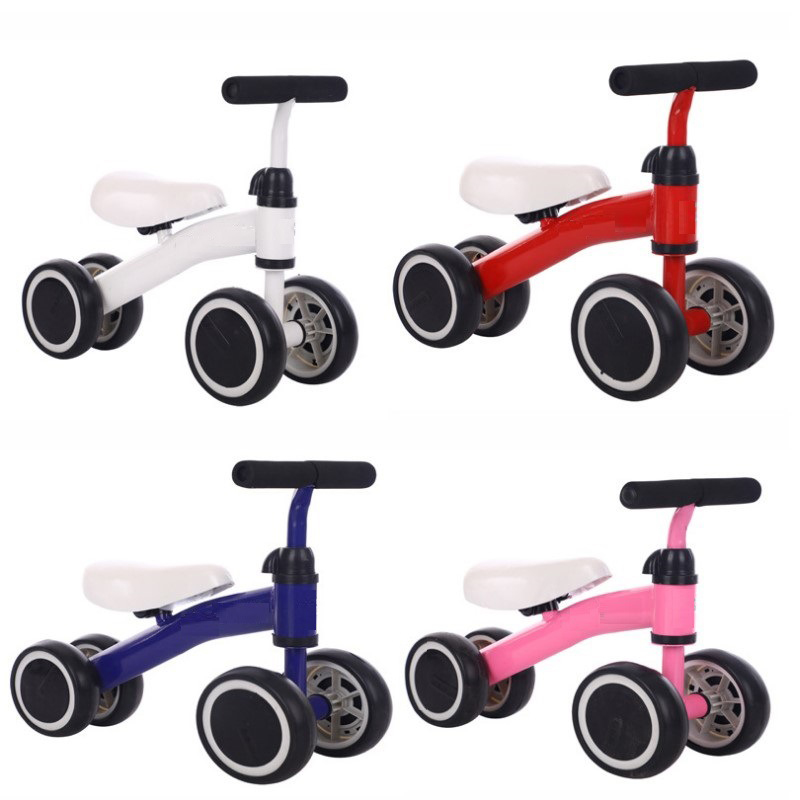 Non-foot two-wheeled children's scooter kids balance slide car 1-2 years old baby bicycle simple walker baby tricycle Kids toys