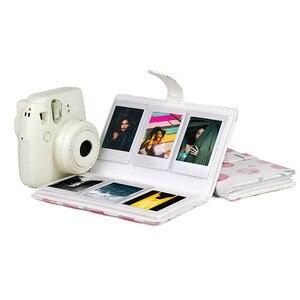Image 4 - Gosear Модная книга из искусственной кожи для фотоальбома для Fujifilm Instax Mini 8 9 7S 7C 25 70 90 3 дюймовые бумажные мини пленки 96 карманов