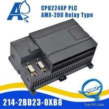 цена на Amsamotion AMX-200 CN PLC CPU224XP 14I/10O 2AI 1AO AC/DC/RLY Replace Siemens S7-200 6ES7 214-2BD23-0XB8 PPI Gold-plated Cable
