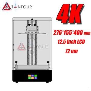 Tianfour 4K смолы прототип sla/dlp/ЖК-монитор 3D-принтеры использовать 405nm УФ смола с большой огромный объем печати 12,5 дюймовый ЖК-экран
