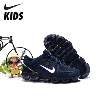 Nike Kids Shoes Air VaporMax Flynit Breathable Children Running Shoes Outdoor Sports Sneakers #849558