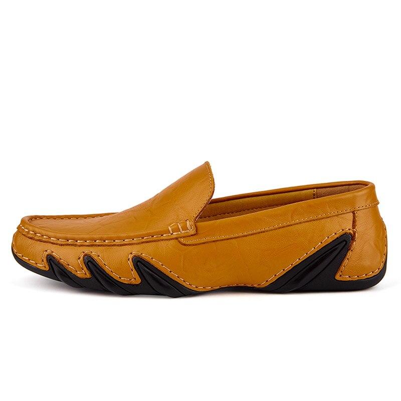 Casual Men Leather Shoes Boat Man's shoe Loafers Mocassin Men's loafer Man Slipons Moccasins Hot Sale Driving Brand Desinger 4
