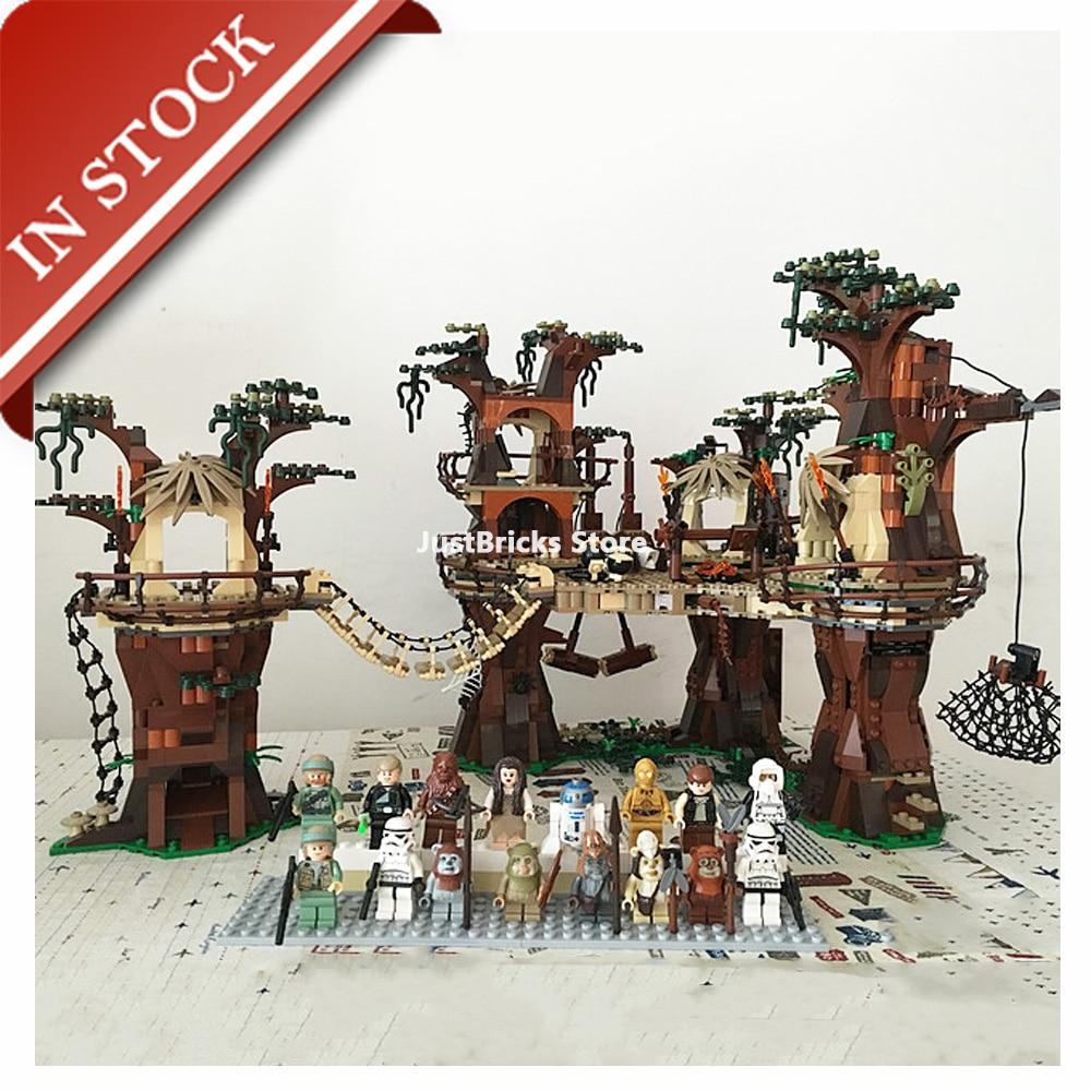Star Toys Wars Ewok Village 10236 05047 In Stock Building Block 1990Pcs Bricks UCS Moive Lepinblocks Gifts Children Space