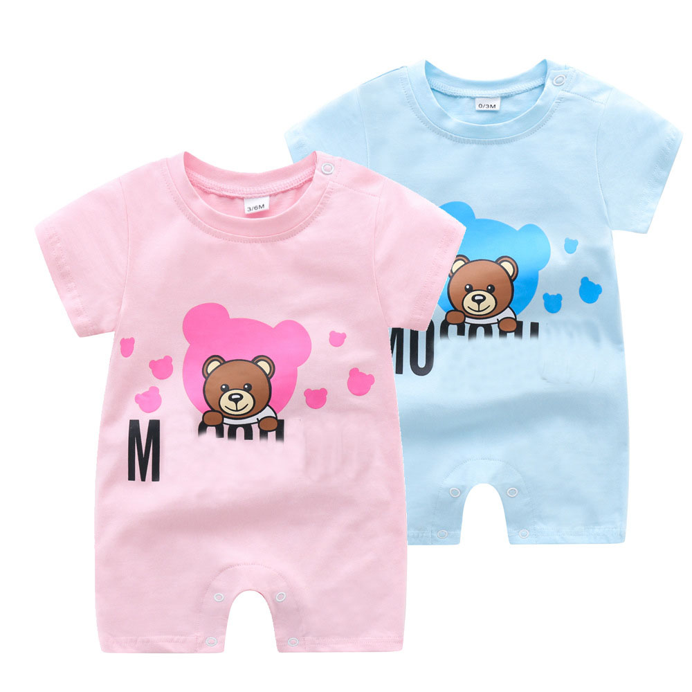 High quality Baby Girls Rompers Summer Soft and Breathable Newborn Baby Clothes For Boys Cotton Kids Jumpsuit Rompers  - AliExpress