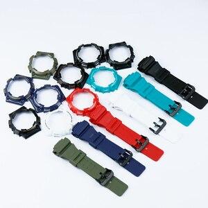Image 1 - Uhr zubehör pin schnalle geeignet für Casio harz strap fall herren uhr mit AQ S810W AQS810WC sport wasserdichte uhr band