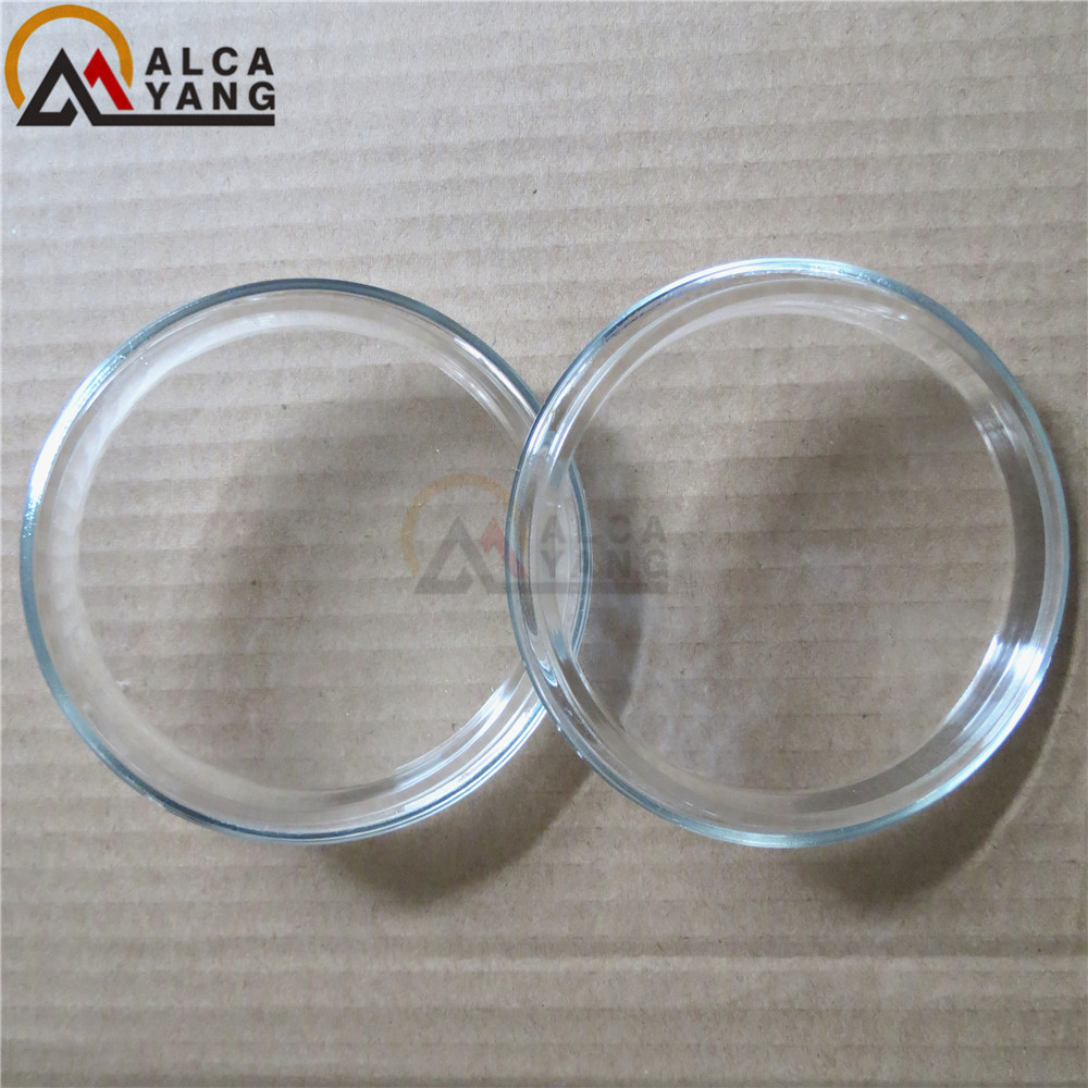 90 MM FOG LAMPS LIGHTS Tempered Glass 2 PCS