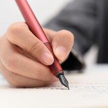 Pluma de fuente de pintura serie KACO SKY II con plumín EF, bolígrafos entintables de moda de lujo para escribir suministros de oficina, novedad de 2020