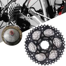 Mountain bike bicicleta 9 velocidade cassete 11-40 t ampla relação roda livre oi-tração roda dentada de aço do volante função de mudança de controle gm