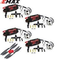 EMAX-Motor XA2212 de 980KV para cuadricóptero teledirigido, Motor de 1400KV con Simonk 30A ESC con 1045 accesorios para modelo RC, F450 F550
