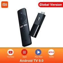 Original global xiaomi mi tv vara android tv 9.0 quad core 1080p hd áudio decodificação chromecast netflix vara de tv inteligente 1gb 8gb