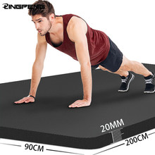 20MM Thick Non-slip Fitness Mat High Density Sports Yoga Mat Gym Home Fitness Exercise for Yoga Pilates and Gymnastics