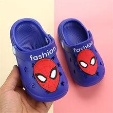 Girls Sandals Baby Garden Shoes Non-slip Casual Boys Slippers Cartoon Unicorn Ra