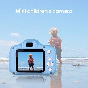 Image 5 - Kebidu Mini sevimli çocuk dijital kamera oyuncak kamera 2.0 inç resim 1080P Video çocuk oyuncakları Video kaydedici kamera