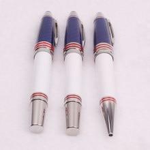 Limited JFK Ballpoint Pen Luxury MB Carbon Fiber Roller Ball Fountain Pens Office School Supplies Gift