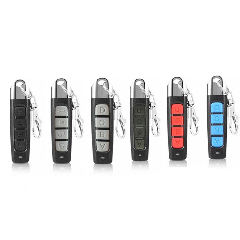 Универсальный клонирование электрические гаражные ворота двери дистанционного Управление ключ 433 МГц Cloner 433 МГц RF пульт Управление гаражны...