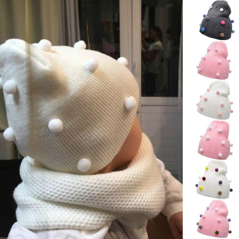 Baby Boy Girl Venonat Hat Kids Autumn Winter Hats Windproof Woolen Warm Knit Crochet Beanie Cap Infant Boys Girls Caps 2020 Hot