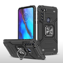 Nhẫn Xe Thiết Giáp Nam Châm Dành Cho Motorola G Stylus Ốp Lưng Etui Moto G Nhanh Chống Sốc Đứng Trong Cho Moto G Power Ốp Lưng