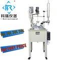 20л с высоким содержанием боросиликата gg3.3 химический стеклянный реактор заводская цена с PTFE уплотнением из Китая производитель лабораторн...