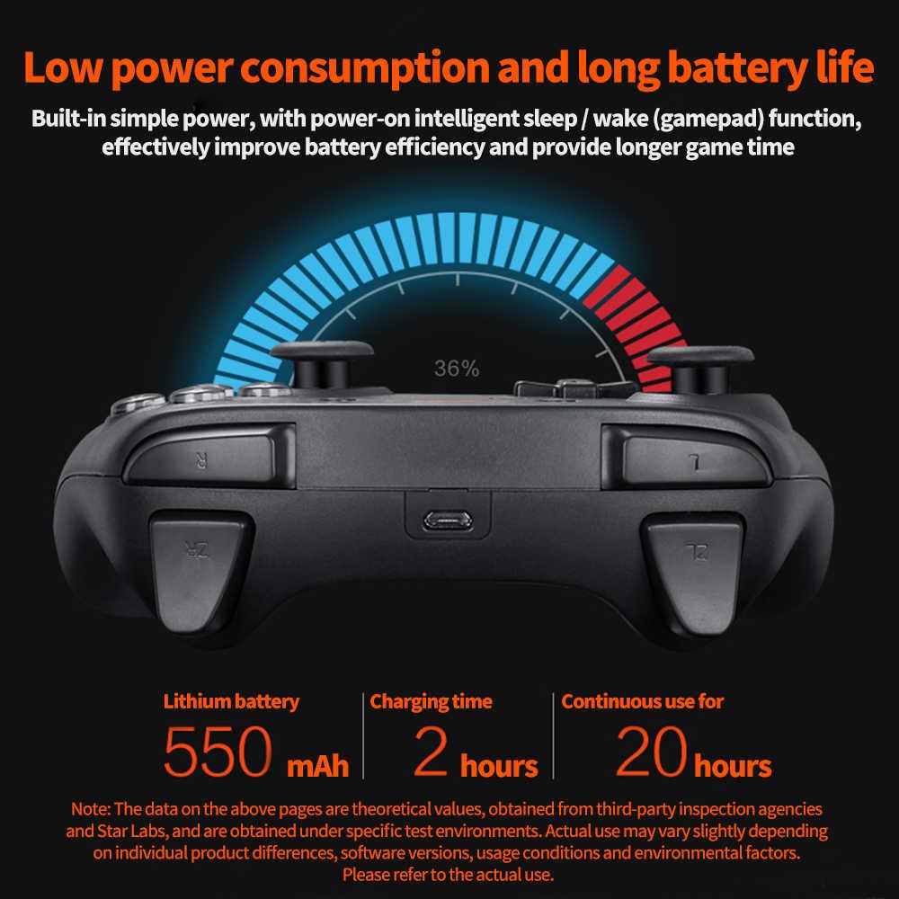 Bluetooth Manette de Gamepad pour Nintend Nintendo Switch Nintendo Jeu PC Console De Contrôleur De Contrôle USB Joypad Déclencheur Mando
