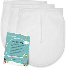 цена на Nut Milk Bag Reusable 1/2/3 Pack 12