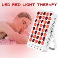 Mini 200W Led Therapie Licht 660nm 850nm Rot Licht Therapie Maschine Gesichts Licht Therapie Haut Verjüngung Gerät Spa Entferner