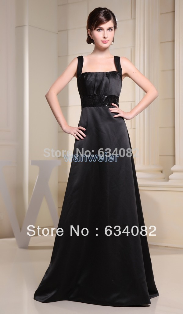 2018 New Promotion Sale Empire Satin Free Shipping Bandage Long Cheap Vestidos Formales Maxi Prom Gown Bridesmaid Dresses