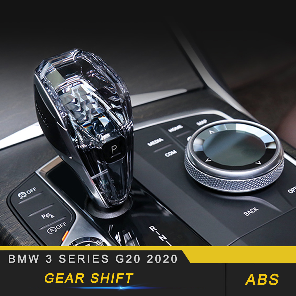 For BMW 3 Series G20 2020 Car Engine Start Button Media Switch Cover Crystal Trim Gear Shift Parts Interior Accessories