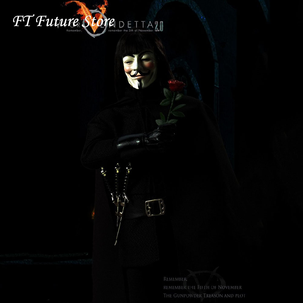 In Stock Collectible 1/6 Scale V From Vendetta 2.0 Solider Action Figure Set Toys Power CT013 Model for Fans Gifts