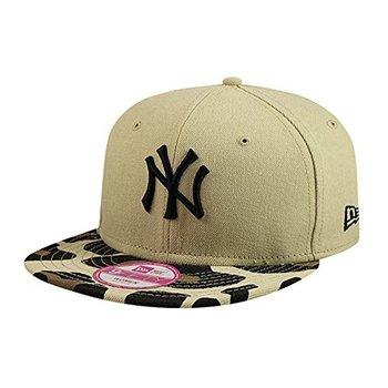 New Era New York Yankees Print Safari Snapback Cap Black 9fifty Basecap Women