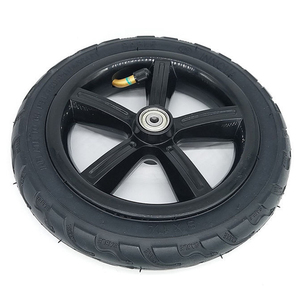 """Image 1 - 1 pc 8"""" 8X1 1/4 (200*45) Pneumatic Tire Inflatable Full Wheel For Electric Scooter Full Round Wheel"""