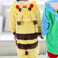 Dinosaur Kigurumi Animals Kids Anime Unicorn Cosplay Costume Funny Suit School Party Student Games Onesies Performance Pajama