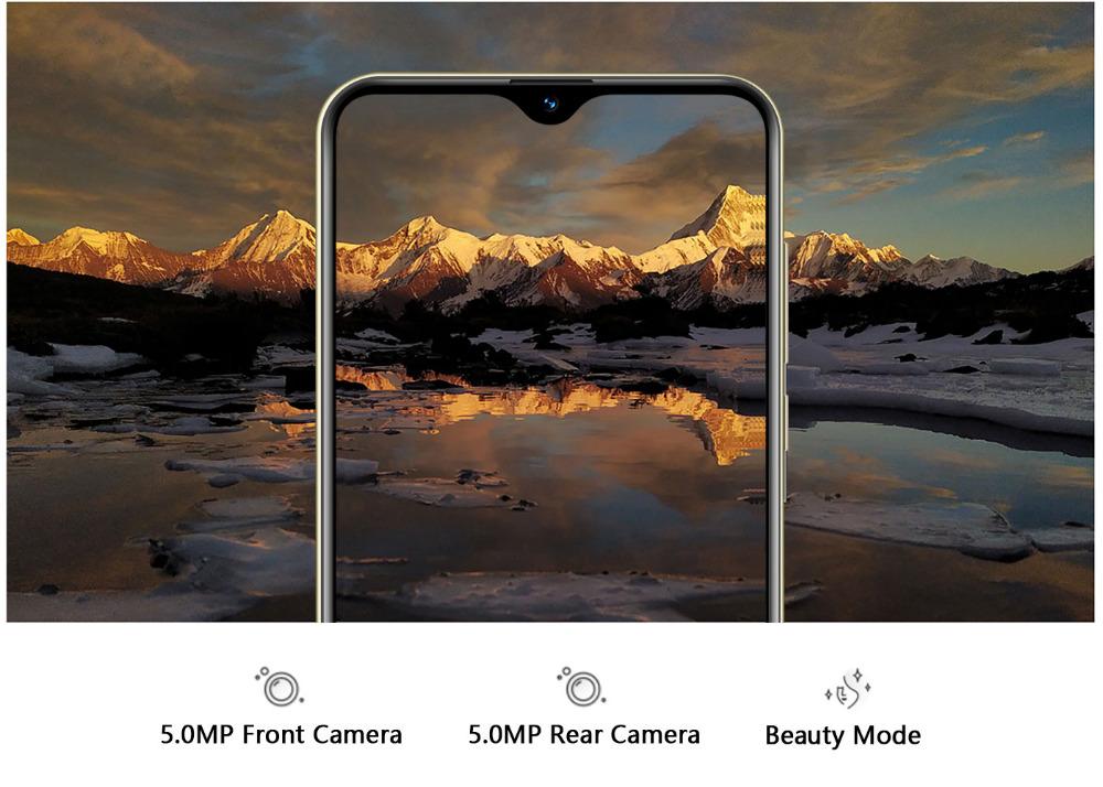 Xgody 3G teléfono móvil Note7 2GB 16GB Smartphone 6,26 12