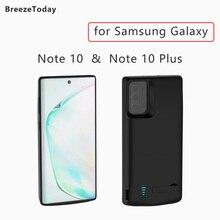 Batterie Ladegerät Fall Lade Power Fall Batterie Fall Für Samsung Galaxy Note 10 Hinweis 10 Plus Power Bank