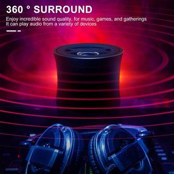 Ultra przenośne głośniki bezprzewodowe Bass dźwięk HD dla różnych urządzeń smartfony tablety laptopy komputery stacjonarne duża wyprzedaż tanie i dobre opinie ACEHE Bluetooth Z tworzywa sztucznego Dwukierunkowa CN (pochodzenie) 25 W NONE ODTWARZANIE WIDEO Wireless Speaker Bluetooth speaker