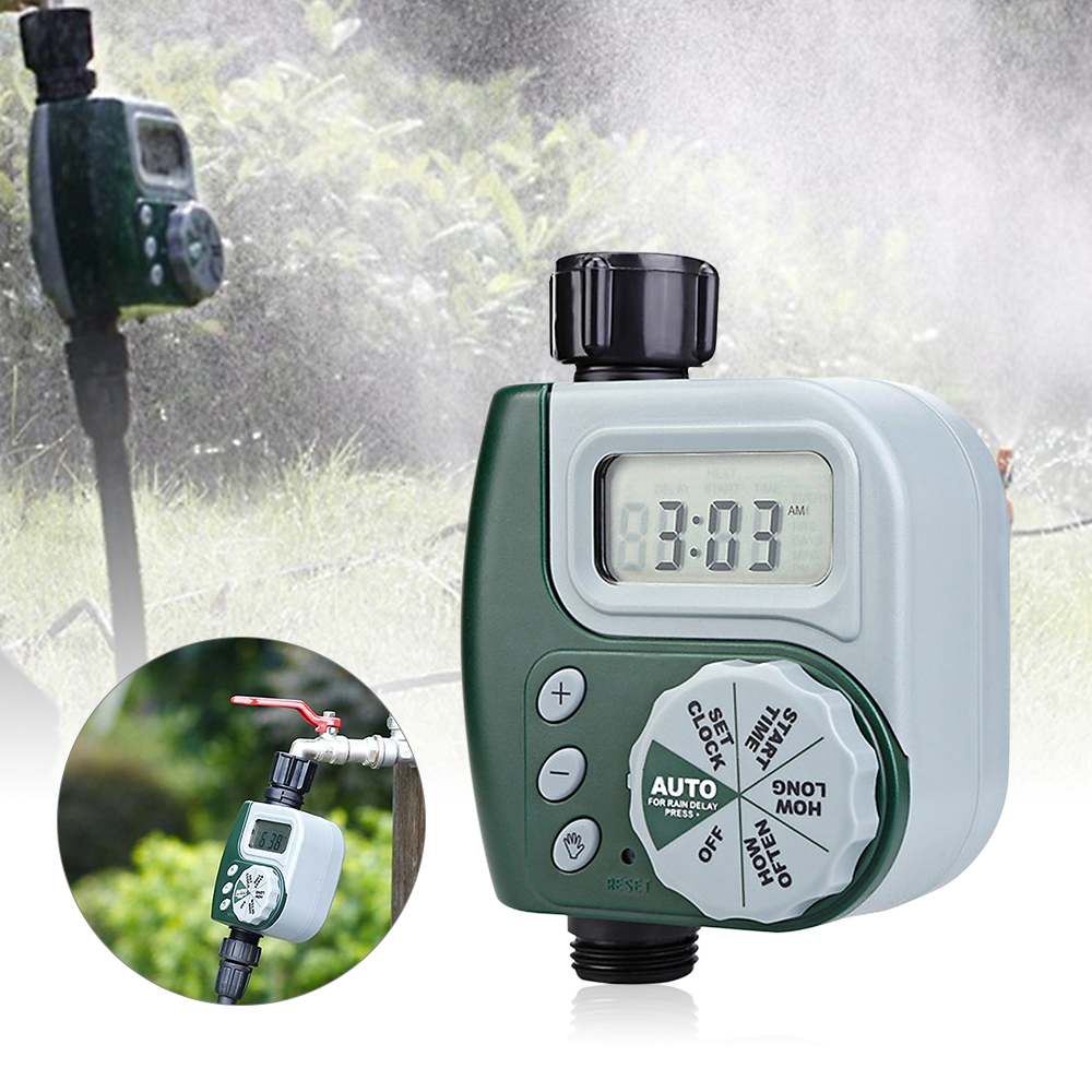 1Pcs Intelligente Automatische Bewässerung System Elektronische Wasser Timer LCD Bildschirm Sprinkler Controller Garten Rohr Bewässerung Gerät