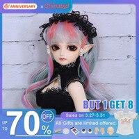 Eliya BJD Doll 1/4 Minifee Dolls Model Girl High Quality Silicone Resin Toys For Girls Birthday Xmas Best Gifts Fairyland FL